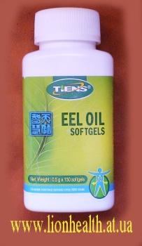 Жир Угря EEL OIL, жир угря тяньши, купить жтр угря, жир угря против атеросклероза