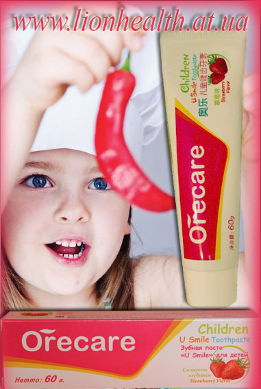 зубная паста Тяньши для детей, паста тяньши, купить пасту тяньши,orecare, тяньши